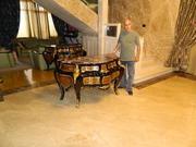 Реставрация мебели и позолотных работ